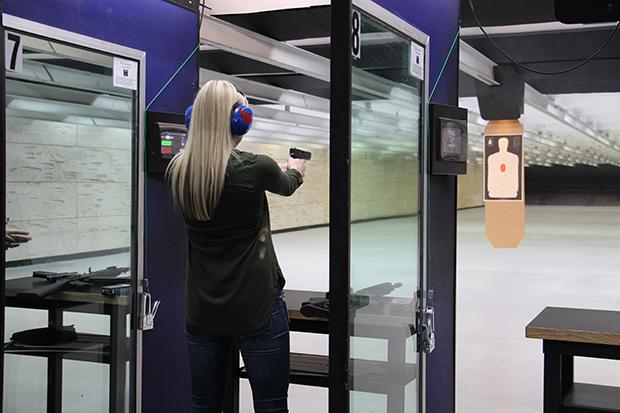 Gun Range at Work
