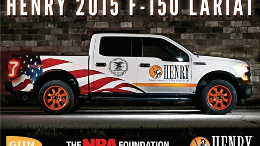 NRA Foundation Auctioning One-Of-A-Kind Henry Repeating Arms Ford F-150