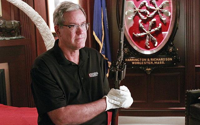 Washington Post Magazine sits with NRA Museums Director Jim Supica