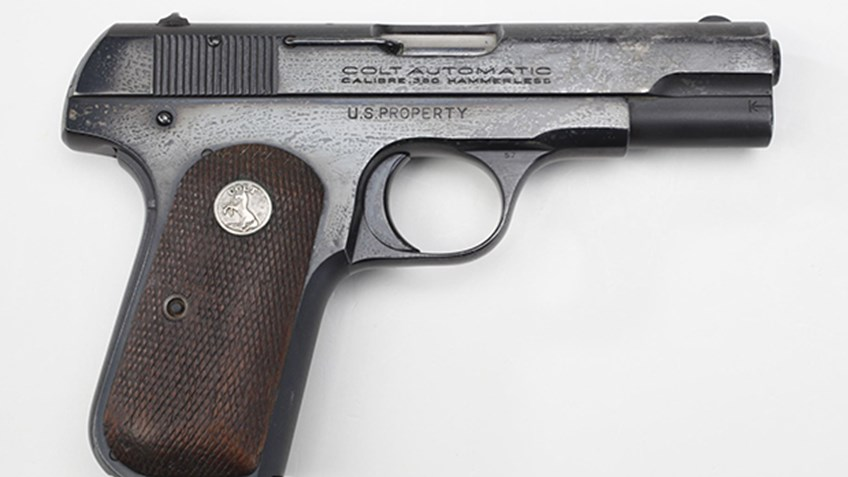 A General Officer's Pistol that saw combat on NRA News