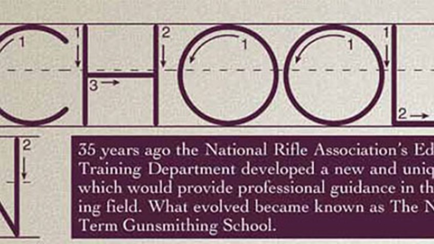 Learn how to become a gunsmith with the NRA's help