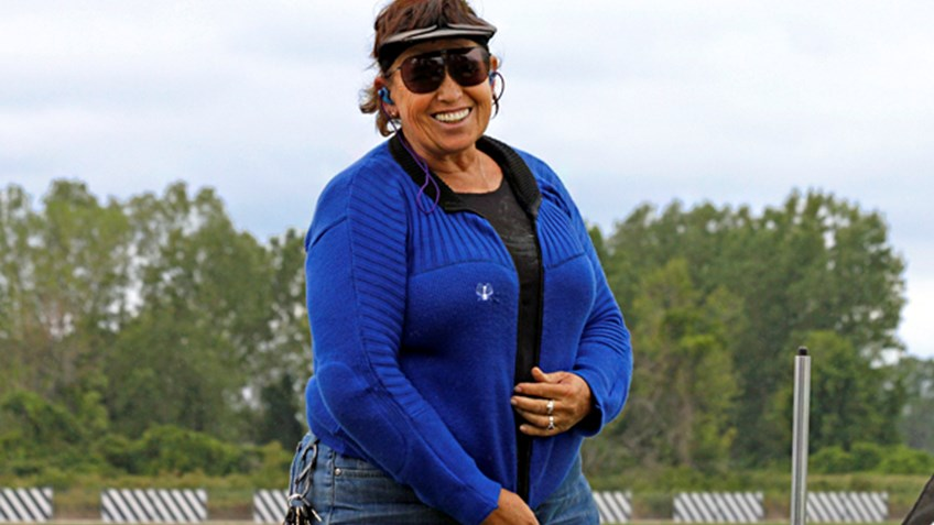 What does shooting legend Nancy Tompkins bring to the range?