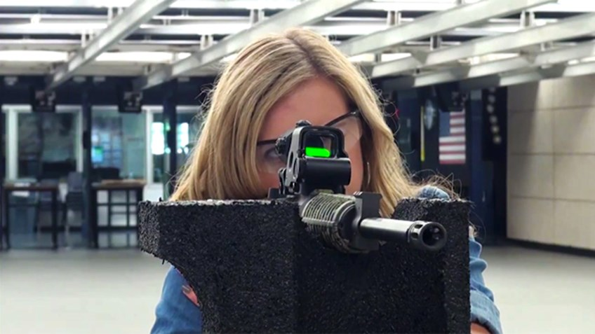 EOTech brings their millionth sight to NRA Headquarters