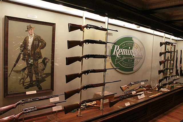 Historic Remington firearms loaned to NRA National Sporting Arms Museum