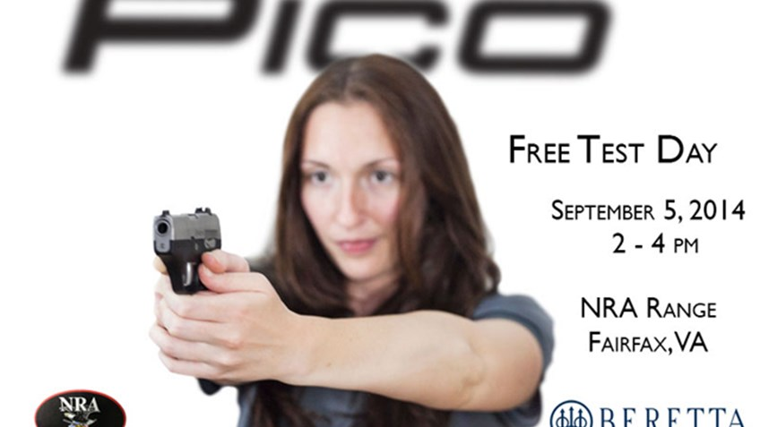 Beretta offering free time and ammo for test fire at the NRA Range