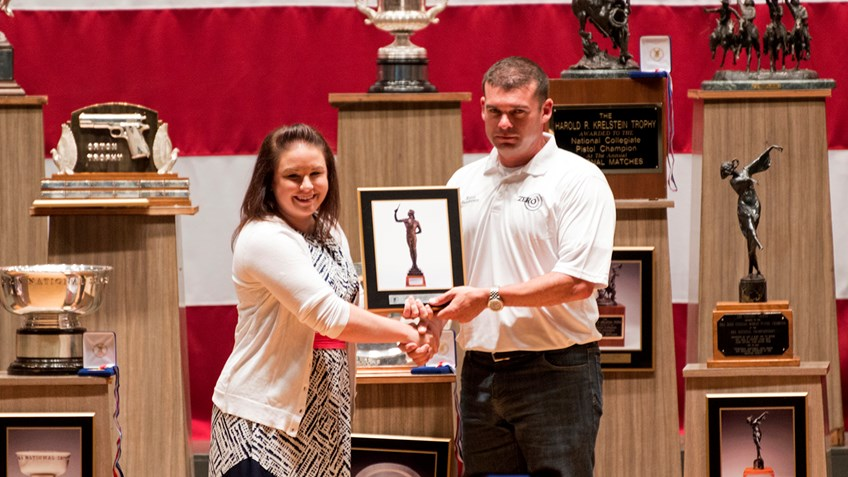 SFC Keith Sanderson Wins 2015 NRA National Pistol Championship