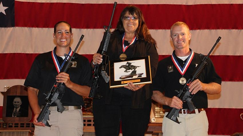 Nancy Tompkins Wins 2015 NRA National Long Range Championship