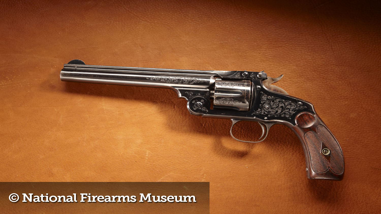 Teddy roosevelt guns to be displayed at nra national - Nra Blog Gun Of The Month Theodore Roosevelt S Smith Wesson New Model No 3 Revolver