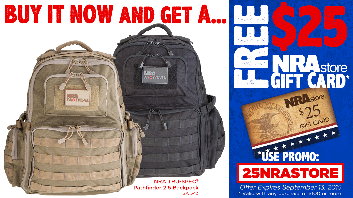 NRA Blog | Get Your NRA Pathfinder 2.5 Backpack Today!