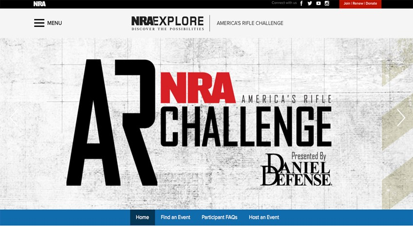 5 Things You'll Notice About the America's Rifle Challenge Website...