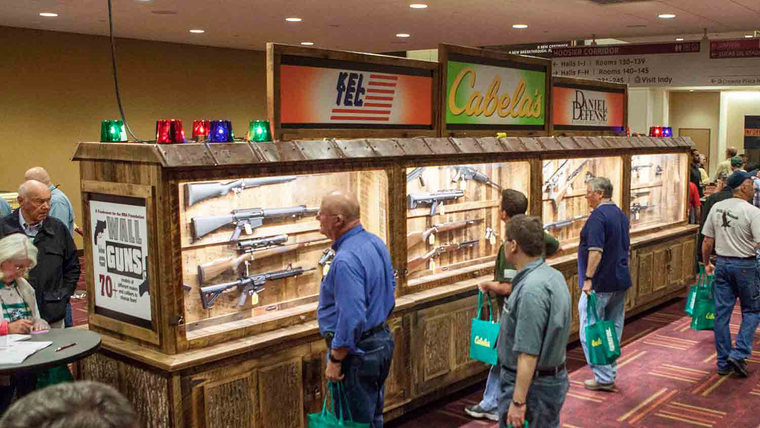 What to Expect When You Attend a Friends of NRA Banquet