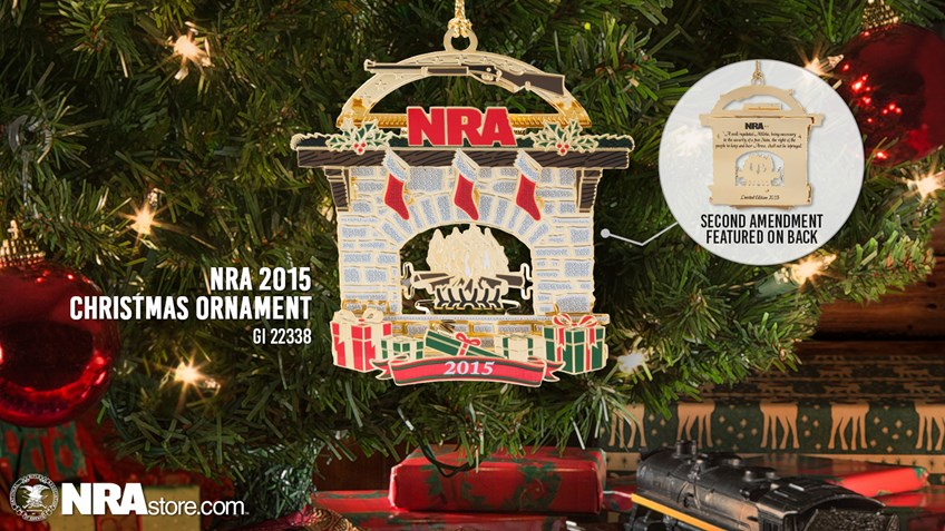 The 2015 NRA Christmas Ornament Is Here!