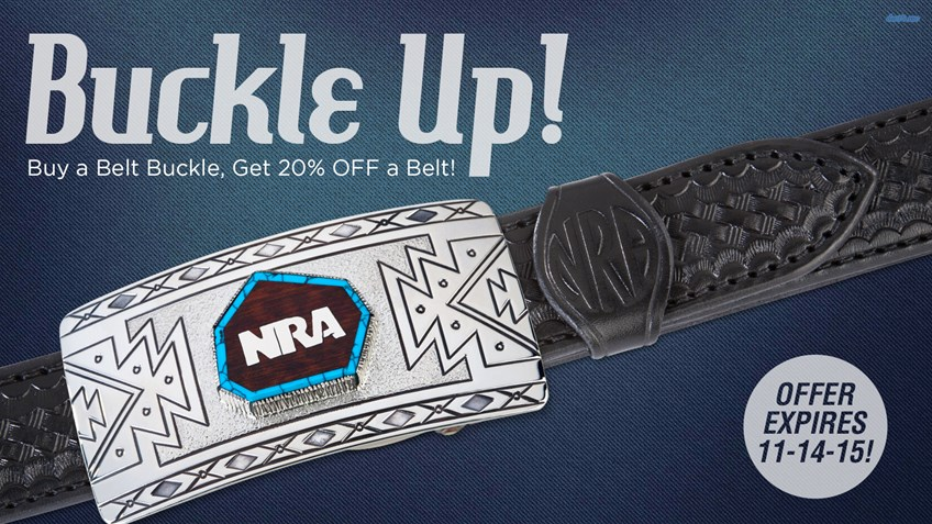 NRA Store's New Deal Will Knock Your Socks Off But Keep Your Pants Up