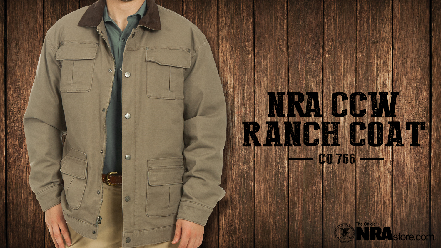 The NRAstore Just Rolled Out One Tough CCW Ranch Coat