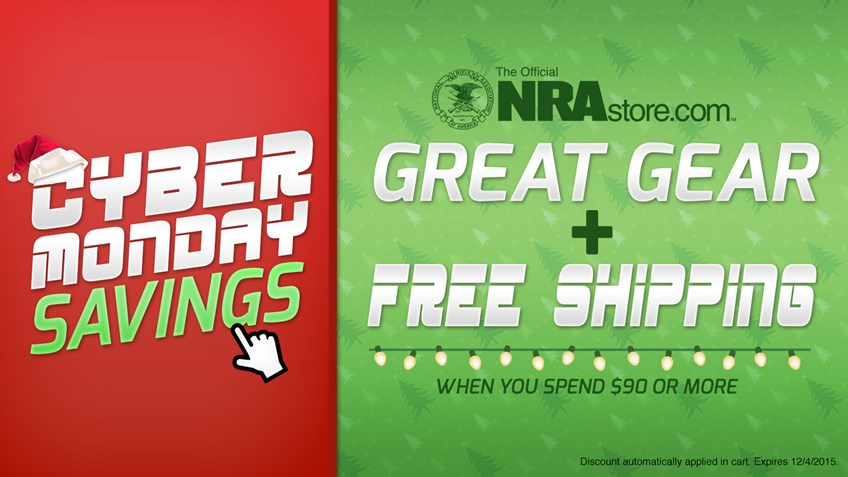 Take advantage of these Cyber Monday deals from NRAstore.com