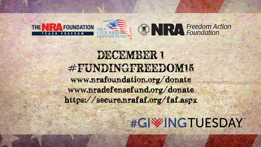 Help the Second Amendment this Giving Tuesday