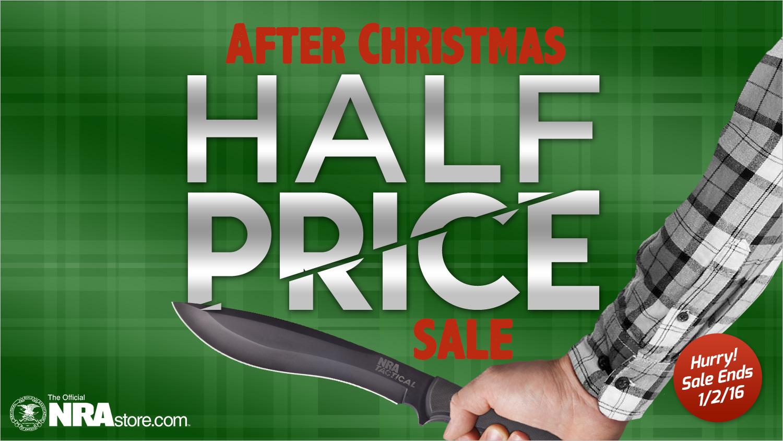 Save 50% on over 80 items at NRAstore.com thru Saturday