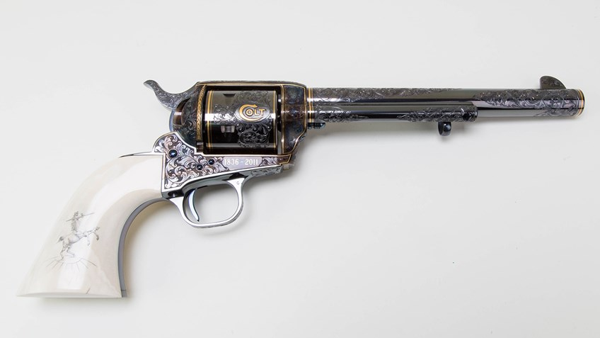 Colt's 175th Anniversary Revolver Joins NRA Museums Collection