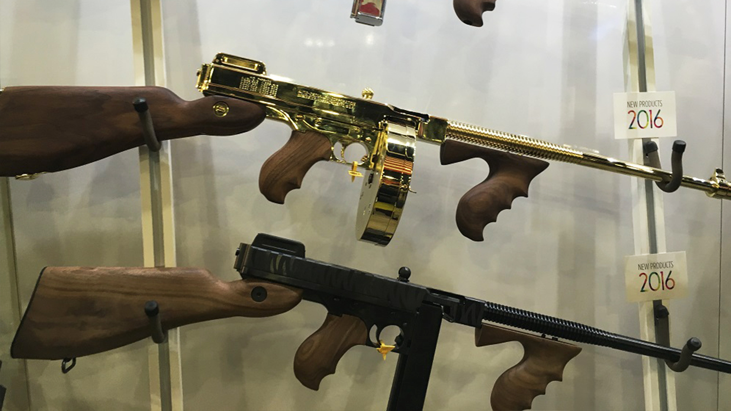 Live from SHOT Show: Kahr Arms Gold Thompson Gun