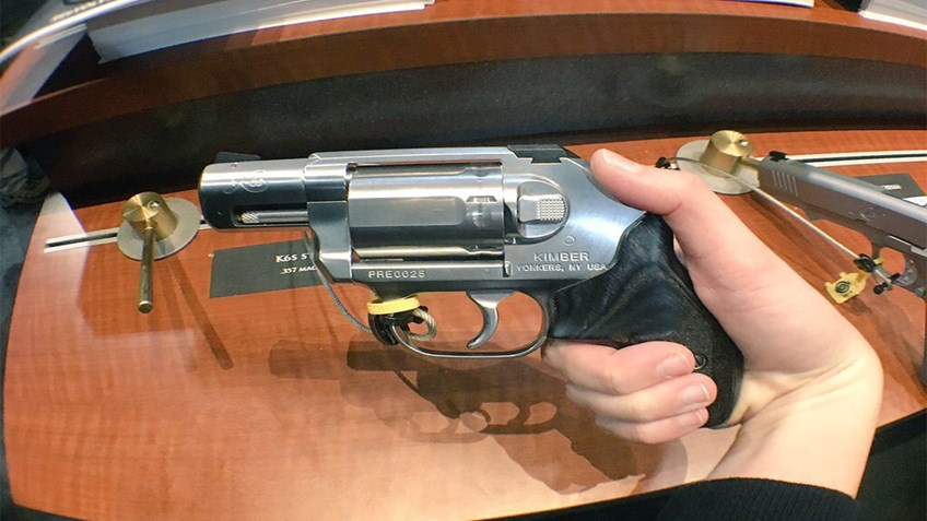Live from SHOT Show: Kimber Releases The REeVOLVE K6s