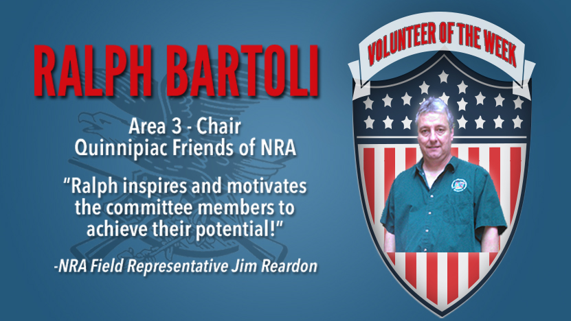 Volunteer of the Week: Ralph Bartoli