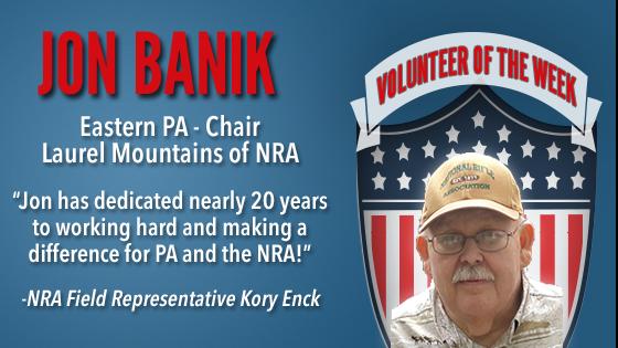 Volunteer of the Week: Jon Banik