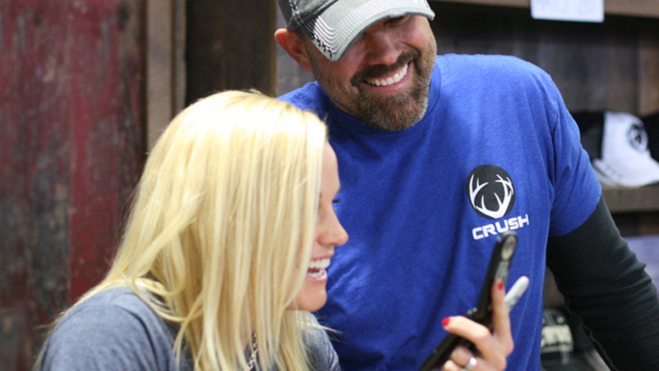 Crush with Lee & Tiffany at the Great American Outdoor Show