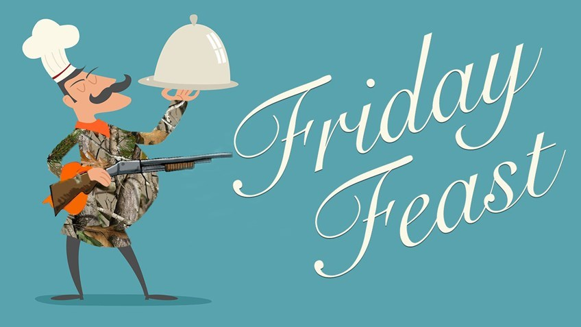 Friday Feast: Grilled Wild Turkey Breast