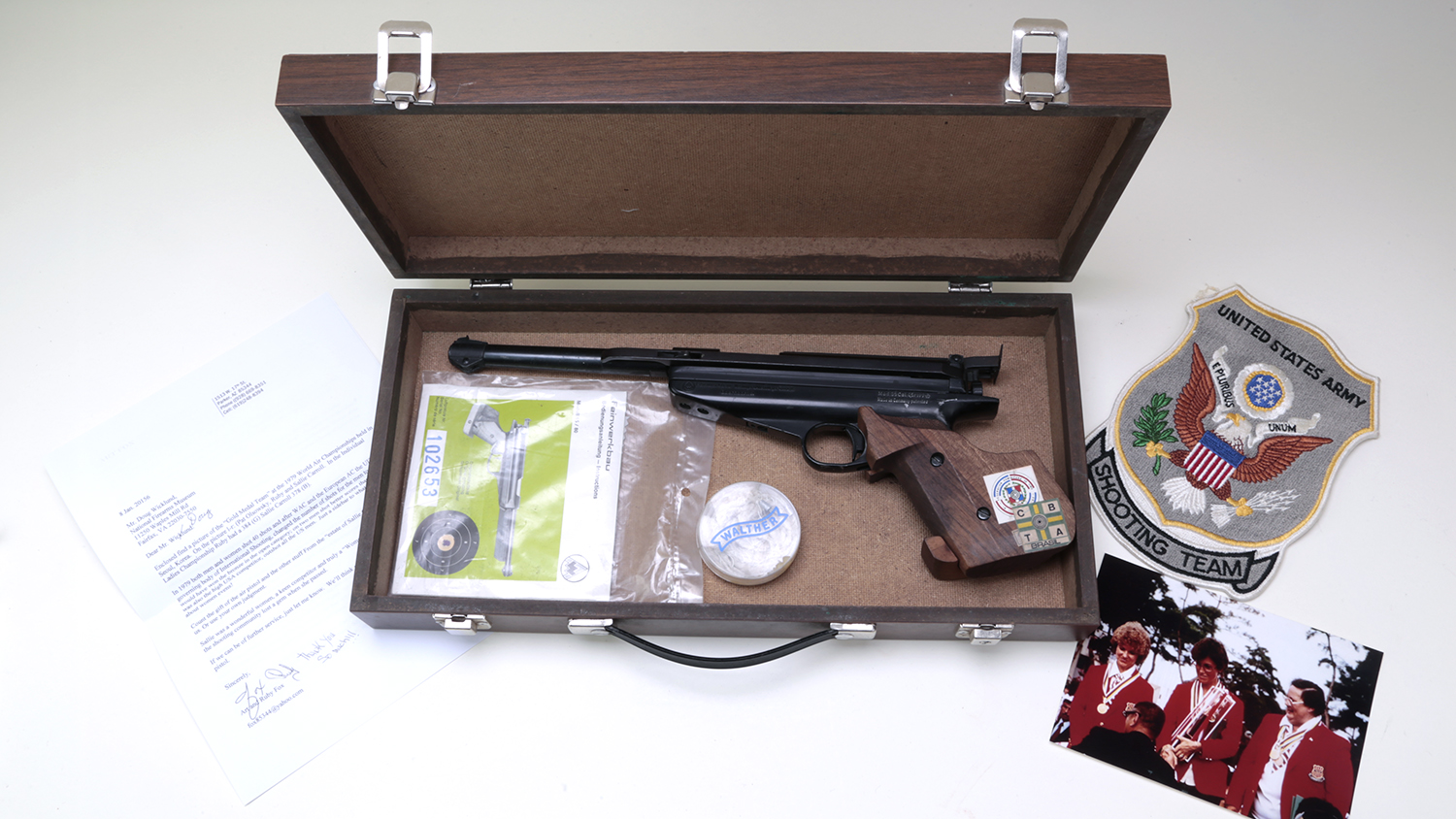 NRA Museums Receives Pioneering Woman Shooter's Pistol