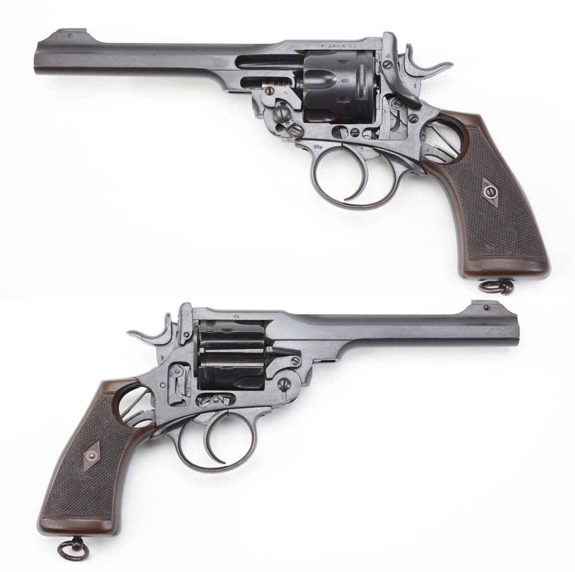 Gun of the Day: Cutaway WWI Webley