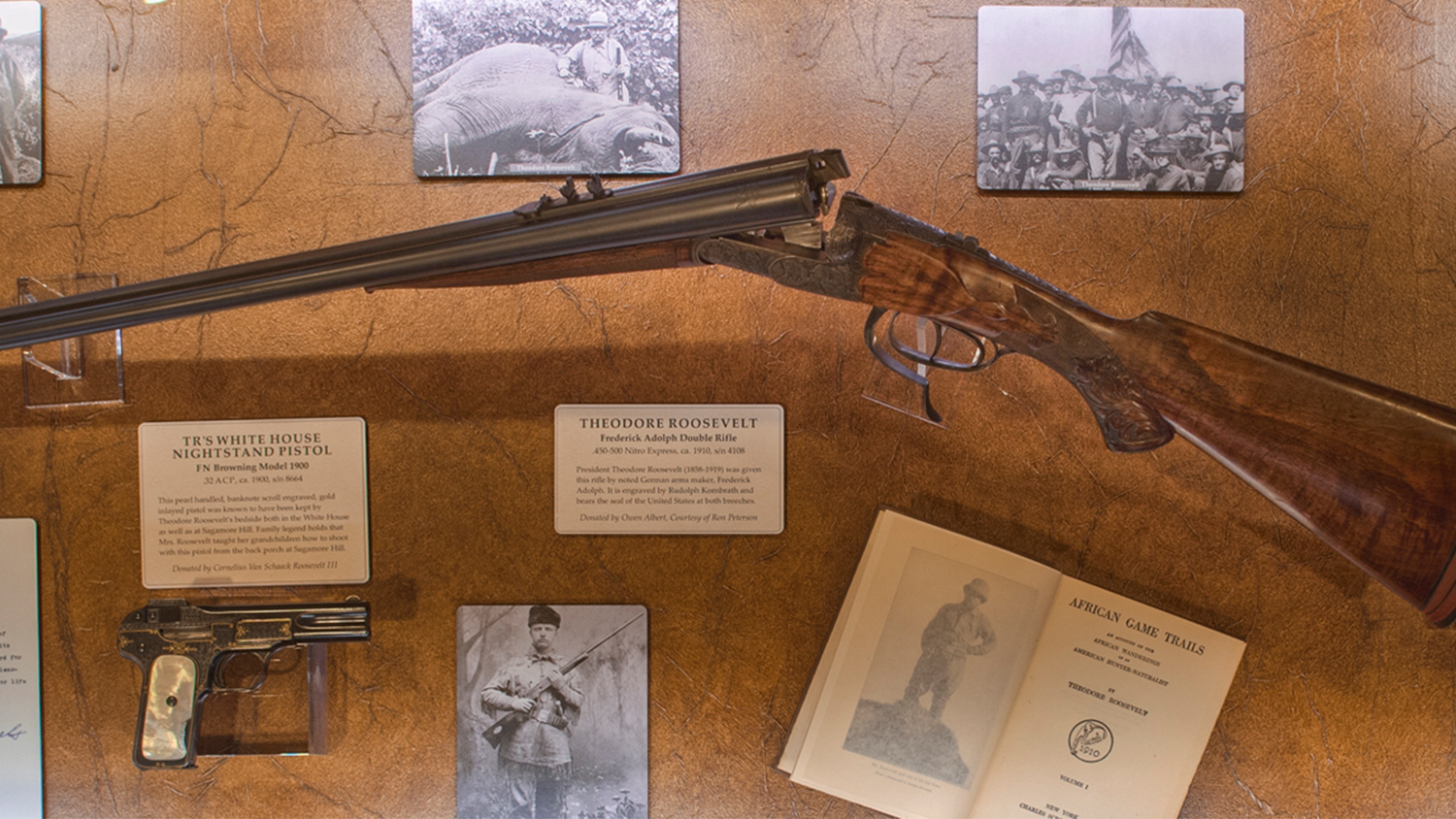 Teddy roosevelt guns to be displayed at nra national - Teddy Roosevelt Guns To Be Displayed At Nra National