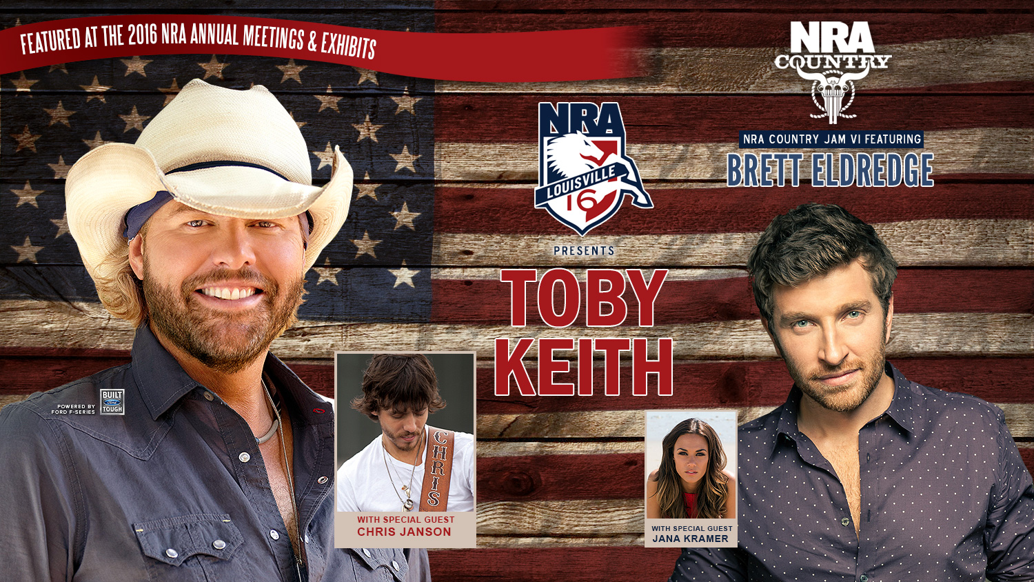 NRA Presents Toby Keith and NRA Country Jam