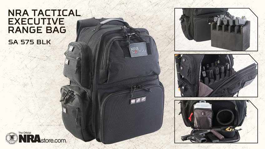 NRA Store Product Highlight: Tactical Executive Range Bag