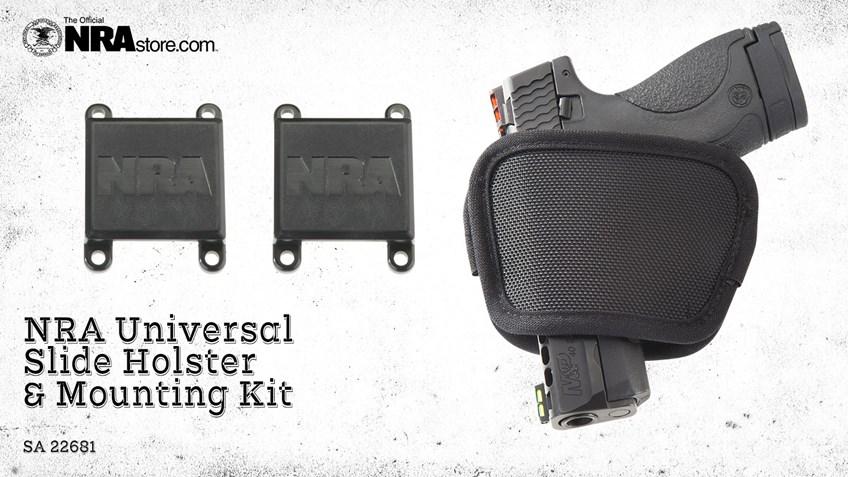 NRA Store Product Highlight: Universal Slide Holster & Mounting Kit