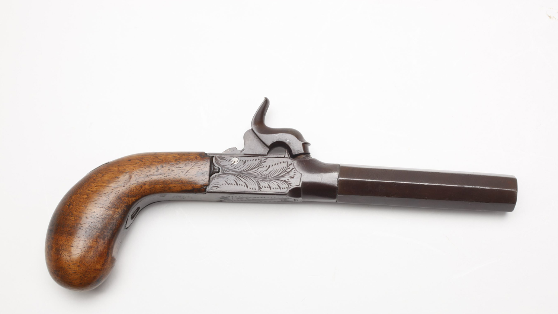 Gun of the Day: Belgian Screw-Barrel Pistol