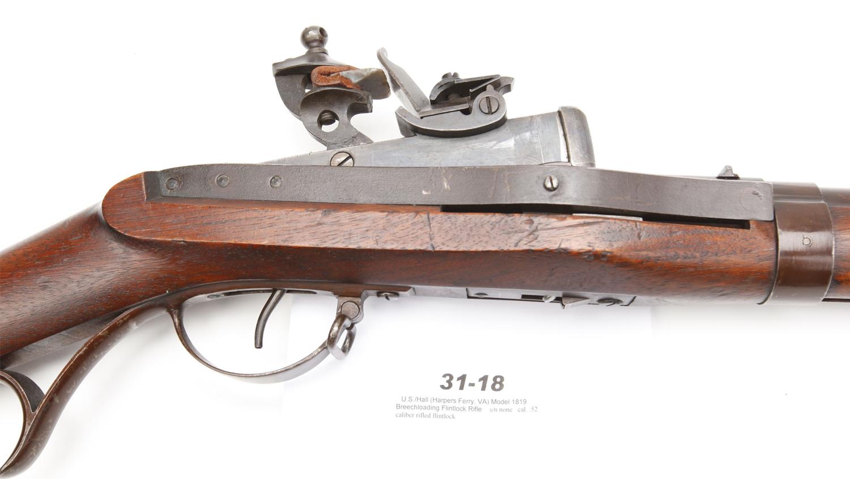 Gun of the Day: Hall Model 1819 Breechloading Rifle