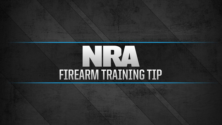 NRA Firearm Training Tip: How to Reduce Your Draw Time
