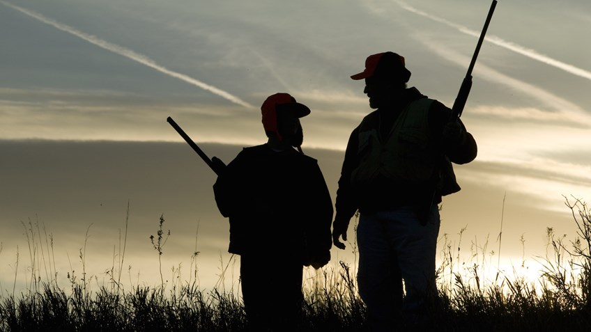 Passing down yesterday's traditions today creates the hunters of tomorrow