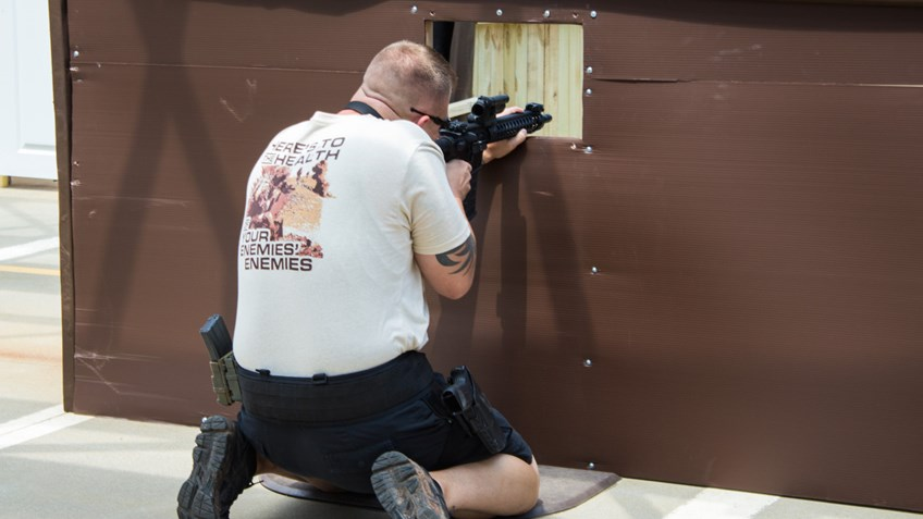 NRA Law Enforcement competitions provide realistic training for police officers