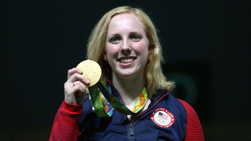 American teenage rifle champion secures first gold medal of Rio games
