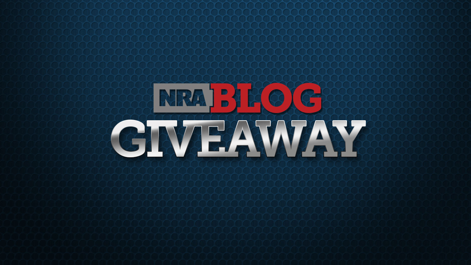 Enter the August NRA Blog Giveaway!