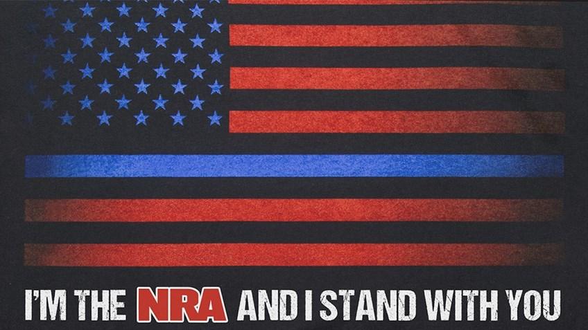 NRAstore 'Thin Blue Line' T-Shirt raises $39,000 for law enforcement