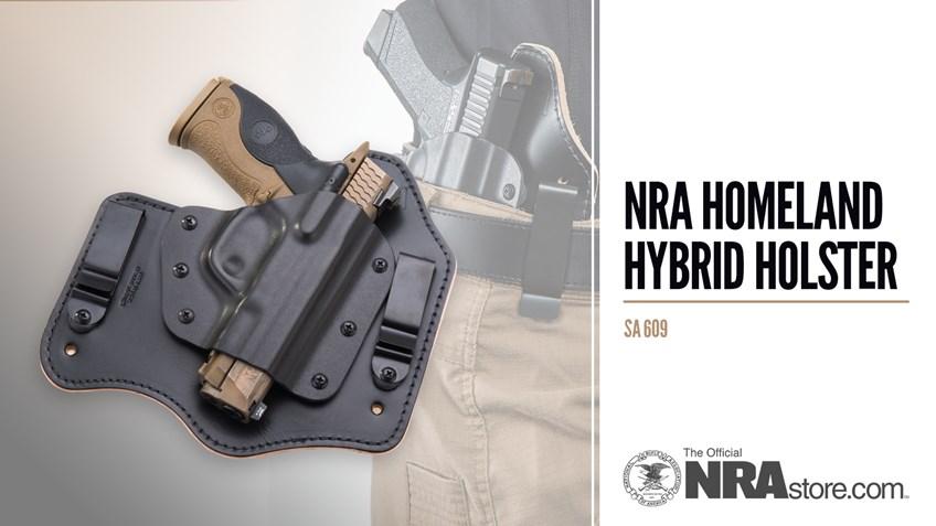 NRA Store Product Highlight: Homeland Hybrid Holster