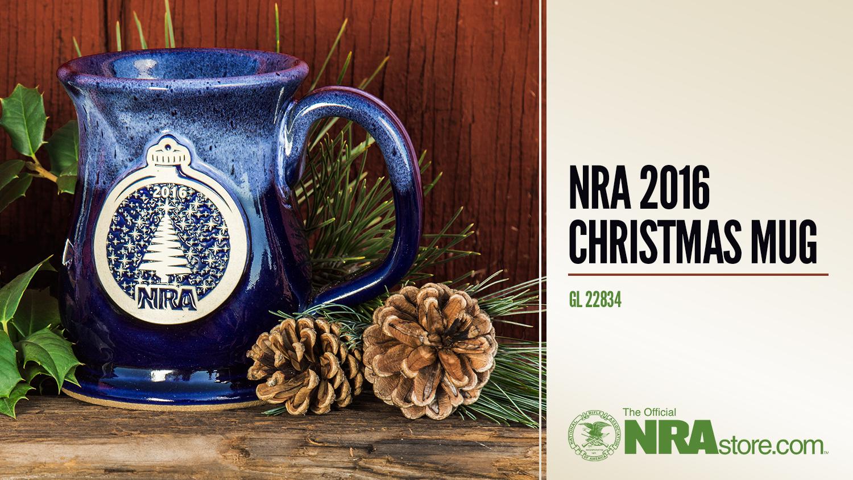 NRAstore Product Highlight: 2016 Christmas Mug