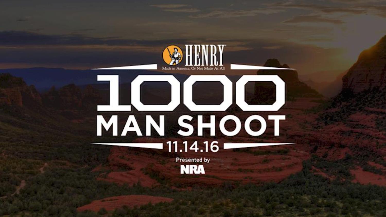 History awaits this November at the Henry 1000 Man Shoot