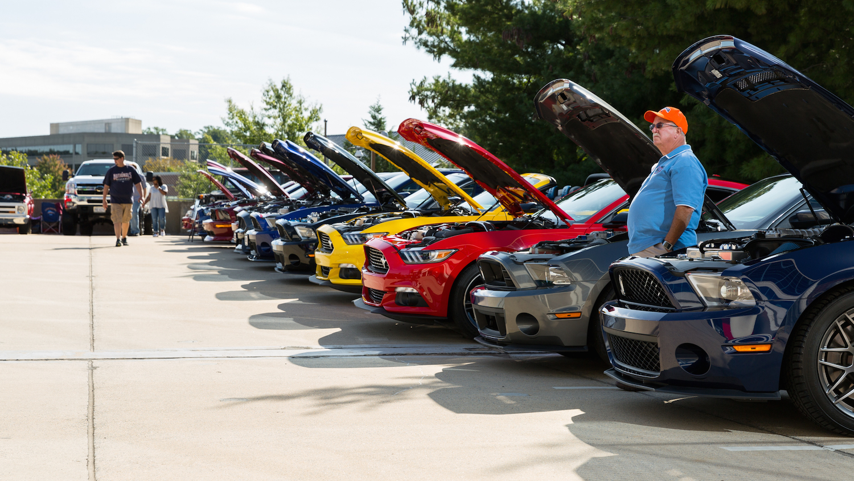 Cool cars, terrific trucks draw great crowd at NRA Car & Truck Show