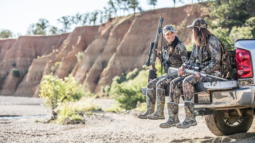 The Journey of Two Girls With Guns