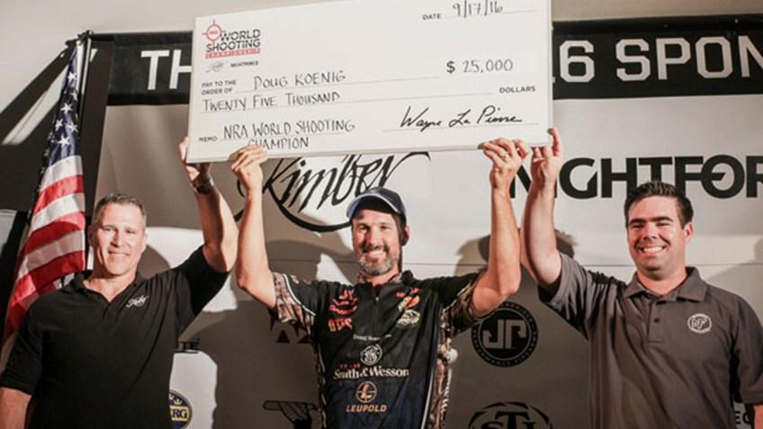 Q&A With NRA World Shooting Champion Doug Koenig