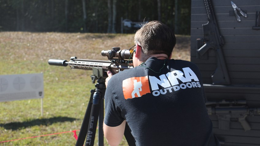 Finding a Second Family in the Shooting Sports Community