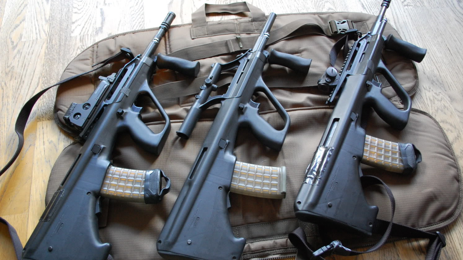 The Steyr AUG: Austrian Engineering in Arms